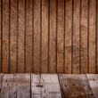 Brown wooden panel — Stockfoto
