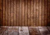Brown wooden panel — Stock Photo