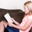 Teen reading a book — Stock Photo #28248657
