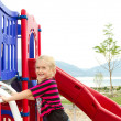 Child at playground — Stock Photo