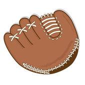 Baseball glove or mitt — Stock Vector
