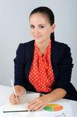 ビジネス女性 — ストック写真
