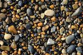 Wet pebbles background — Stock Photo