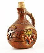 Ceramic bottle — Stock Photo