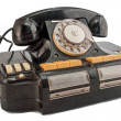 Stock Photo: Telephone-commutator