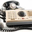 Stock Photo: Old telephone-commutators