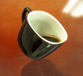 Insulated cup coffee — Stock Photo