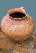 Pottery from clay1 — Stock Photo