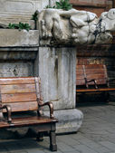 Bench,imperial palace — Stock fotografie