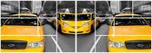 Taxis jaune New York — Stock Photo