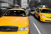 Taxis jaune New York — Stock Photo