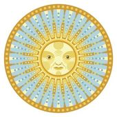 Daylight Mandala — Stock Vector