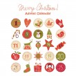Advent Calendar — Stock Vector #31879447