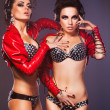 Sexy Women Lovers in Erotic Lingerie - &amp; Closeness - Foto de Stock  