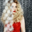 Stock Photo: Allure. Glossy Stylish Wom- Glitter. Magnetism