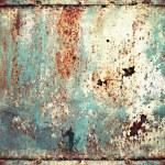Rusty metal plate — Stock Photo #17449247