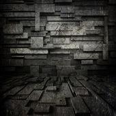 Black grunge background — Stock Photo