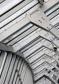 Metal frame structure — Stock Photo