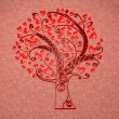 Tree in hearts — Stock Photo #20065679