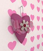 Souvenir heart — Stock Photo