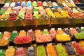 Stoisko cukierki — Zdjęcie stockowe