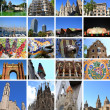 Stock Photo: Collage of Barcelona