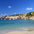 Cala Vadella beach, Ibiza — Stock Photo