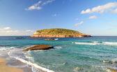 Cala Comte Beach in Ibiza — Stock Photo