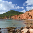 Sa Caleta beach in Ibiza, Spain — Stock Photo