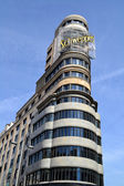 Building of the Gran Via built in 1931 also known Capitol Building — Stock Photo