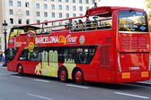 Barcelona City Tour bus — Stock Photo
