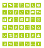 Set of Web icons — 图库照片
