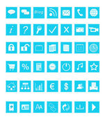 Set of Web icons — Stock fotografie