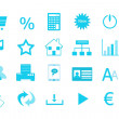 Stock Photo: Set of icons for the Web