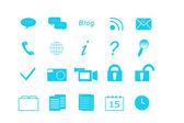 Zestaw ikon dla web — Zdjęcie stockowe