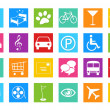 Stock Photo: Set of icons for Web