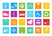 Set of icons for the Web — Stock Photo