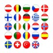 Stock Photo: Europeflag icons
