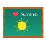 I like the Summer — Stock Photo #23045486