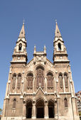 Church in Aviles, Asturias, Spain — Foto Stock