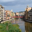 View of the city of Girona — Stock Photo