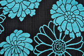 Blue floral texture background — Stockfoto