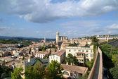 Landscape of the city of Girona, Spain — Fotografia Stock