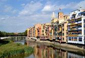 Blick über die Stadt Girona — Stockfoto