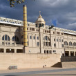 View of the Olympic Stadium Lluis Companys in Barcelona, Spain — Stock Photo