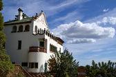 Casa Trias op Park Guell in Barcelona, Spanje Spanje — Stockfoto