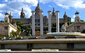 National Art Museum of Catalonia in Barcelona, Spain — Stock Photo