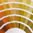 Stock Photo: View of pantone color catalog