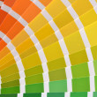 Pantone color catalog — Stock Photo