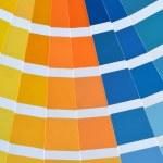Close up of a pantone color catalog — Stock Photo #36653637
